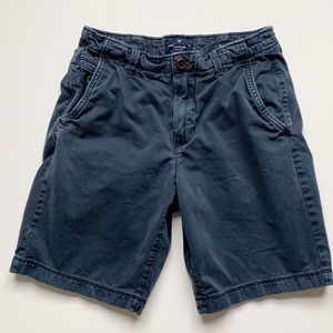 American Eagle classic navy shorts